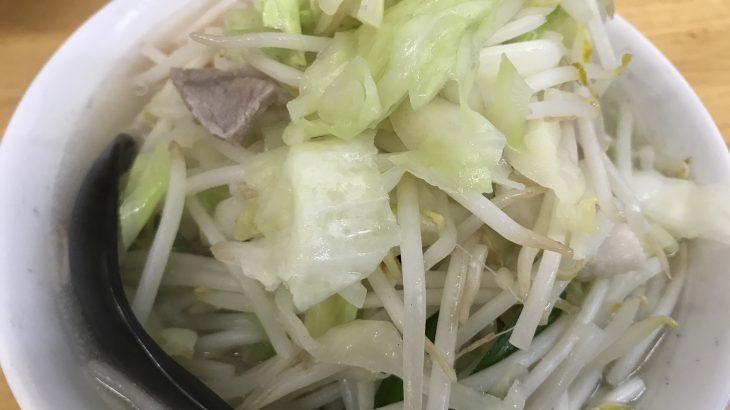 「タンメンしゃきしゃき」で野菜を食べよう(新橋でランチ28)