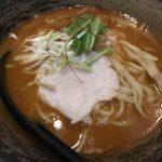 人気の鶏白湯ラーメンを新橋で 麺屋武一(新橋でランチ39)
