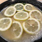 インスタ映えラーメン? 鶏そば 壽(ことぶき)でレモンそば in 池袋