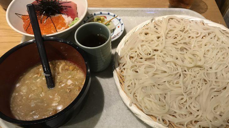 行列店 七蔵で稲庭うどん(新橋でランチ44)